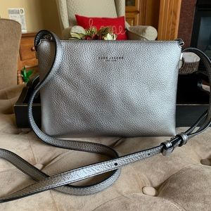 Marc Jacobs Leather Crossbody Dual Compartment